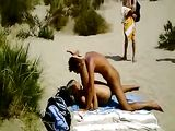Naked Couple Caught Having Sex at Beach