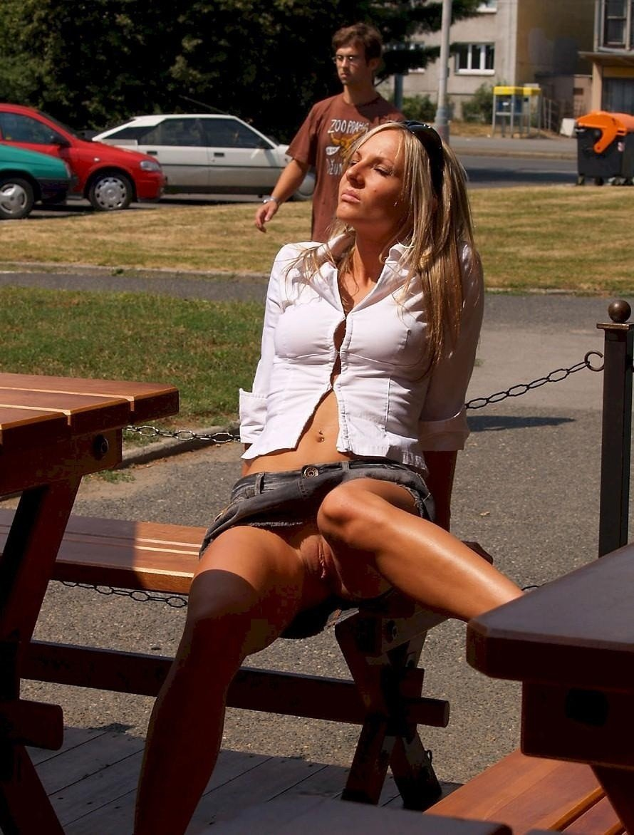 Smoking Hot Blonde Milf