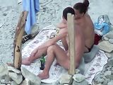 Voyeur Sex at the Beach