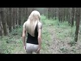 German Outdoor Anal Sex