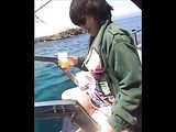 Husband Films His Wife Fucking Friend on the Boat